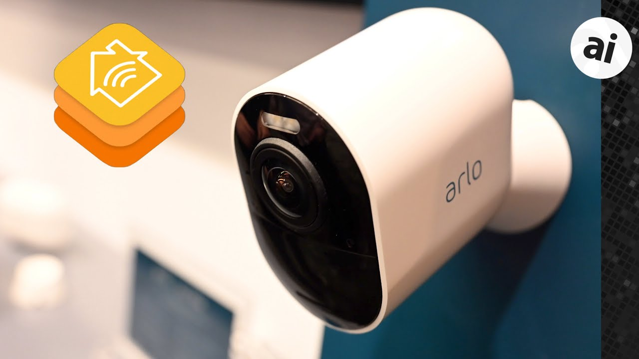 Hands-On: Arlo Ultra 4K HDR HomeKit Camera & Arlo Security System at CES  2019 - YouTube